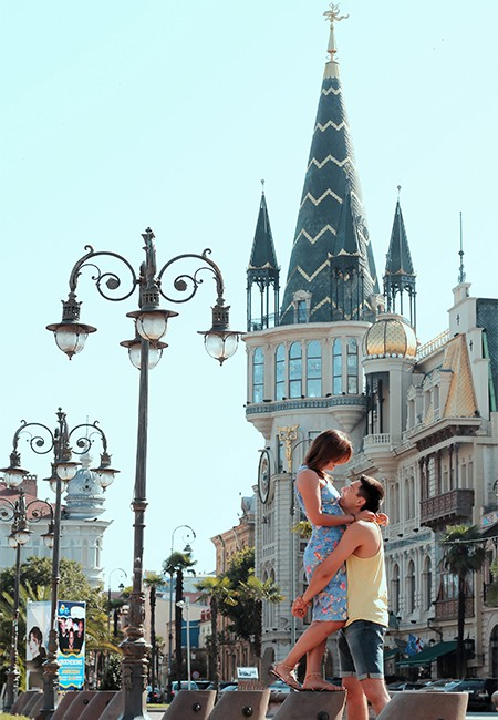 LoveStory Photography in Batumi